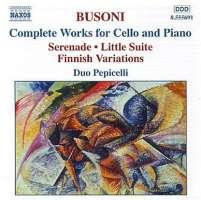 BUSONI: Cello and Piano Works (Complete)