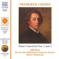 CHOPIN: Piano Music - Piano Concerto Nos. 1 And 2
