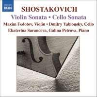 SHOSTAKOVICH: Cello Sonata