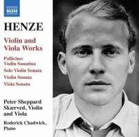 Henze: Violin and Viola Works