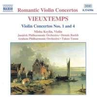 VIEUXTEMPS: Violin Concertos