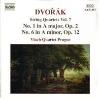 DVORAK: String Quartets Vol. 7