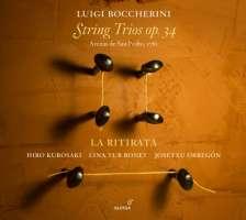 Boccherini: String Trios op. 34