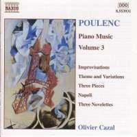 POULENC: Piano Music Vol. 3