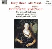 HOLBORNE / ROBINSON: Lute Music