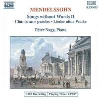 WYCOFANY  Mendelssohn: Songs without Words, Vol. 2