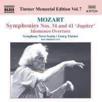 MOZART: Symphonies Nos. 34 & 41