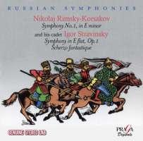 WYCOFANY   Rimsky-Korsakov: Symphony No. 1; Stravinsky: Symphony op. 1