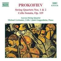PROKOFIEV: String Quartets Nos. 1 and 2, Cello Sonata