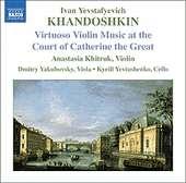 Khandoshkin : 3 Violin Sonatas, Op. 3
