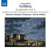 Vanhal: Symphonies, Vol. 4
