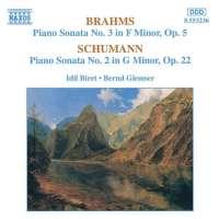 BRAHMS / SCHUMANN: Piano Sonatas