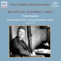 Beethoven/Schubert/Grieg: Violin Sonatas