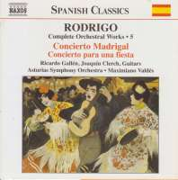 RODRIGO: Complete Orchestral Works vol.