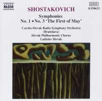 Shostakovich: Symphonies Nos. 1 and 3