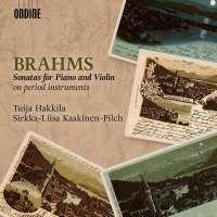 Brahms: Sonatas for Piano and Violin