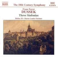 DUSSEK: Three Sinfonias