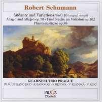 Schumann: Andante & Variations, Stücke im Volkstom, Adagio & Allegro, Phantasiestücke