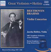 GREAT VIOLINISTS - HEIFETZ (1939-40)