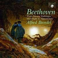 Beethoven: Piano Sonatas 'Pathétique'; 'Moonlight' & 'Appasionata'
