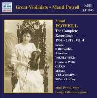 Maud Powell - Complete Recordings Vol 4