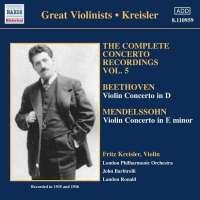Beethoven/Mendelssohn: Concertos for Violin and Orchestra