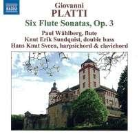 PLATTI: 6 Flute Sonatas