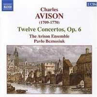 AVISON: 12 Concertos, Op. 6