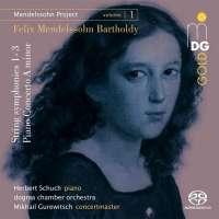 Mendelssohn Project Vol. 1: String symphonies 1 - 3, Piano Concerto
