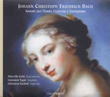 Bach JCF: Sonatas For Transverse Flute And Fortepiano