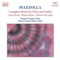 PIAZZOLLA: Flute and Guitar Music