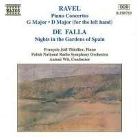 RAVEL: Piano Concertos / FALLA: Nights in Gardens of Spain