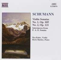 SCHUMANN: Piano Sonata op.105