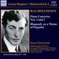 Rachmaninov: Piano Concertos Nos 1 and 2, Paganini Variations