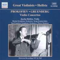 GREAT VIOLINISTS - HEIFETZ (1937-45)