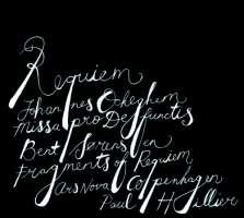 Ockeghem: Missa pro Defunctis, Bent Sørensen: Fragments of Requiem