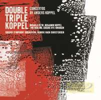 Koppel: Concerto for recorder, saxophone & orch.; Triple Concerto for mezzo saxophone, cello, harp & orch.