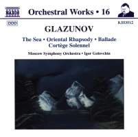 GLAZUNOV: Orchestral Works vol.16
