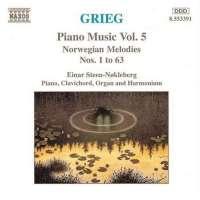 GRIEG: Piano Music Vol. 5