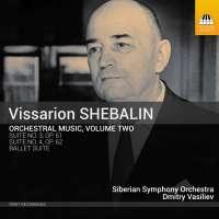 Shebalin: Orchestral Music Vol. 2