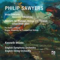 Sawyers: Violin Concerto; Concerto for Trumpet, Strings and Timpani