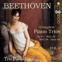 BEETHOVEN: Tria fortepianowe vol. 4