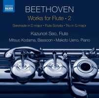 Beethoven: Works for Flute Vol. 2