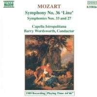 Mozart: Symphonies Nos. 36, 33 and 27