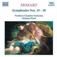 Mozart: Symphonies 15-18