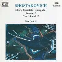 SHOSTAKOVICH: String Quartets Vol. 5, Nos. 14 and 15