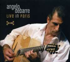 Angelo Debarre Live in Paris [+Bonus DVD]