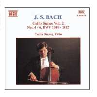 BACH: Cello Suites vol. 2