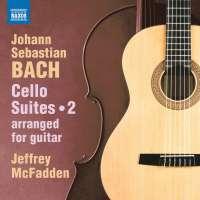 Bach: Cello Suites Vol. 2 arranged for guitar