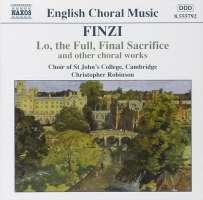 FINZI: Lo, the Full, Final Sacrifice